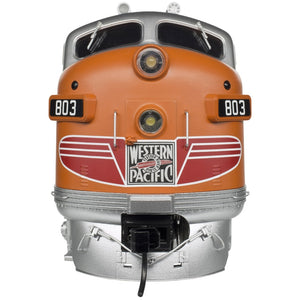 "Atlas O 1637-3 - California Zephyr - EMD F3A Phase 2 Early ""Western Pacific"" (Powered)"