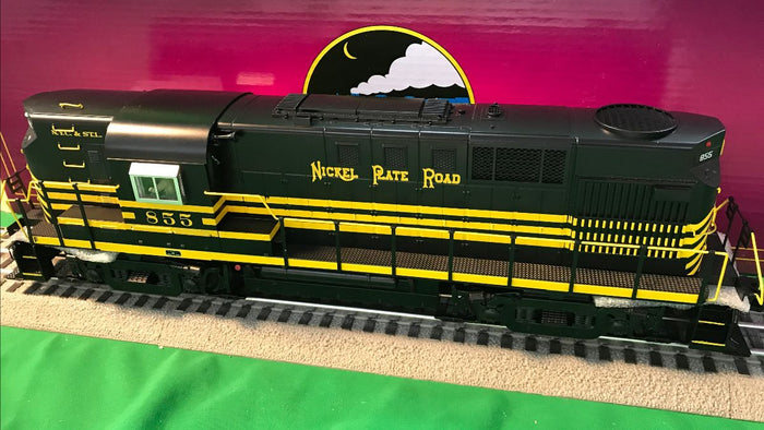 "MTH 20-21067-1 - RS-11 High Hood Diesel Engine ""Nickel Plate Road"" #858 w/ PS3"
