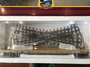 "MTH 20-92106 - 60' Flat Car ""TTX"" w/ Track Crossover Load Set (6-Car)"