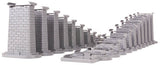 MTH 40-1113 - RealTrax - Graduated Trestle System for Lionel FastTrack (24-Piece)