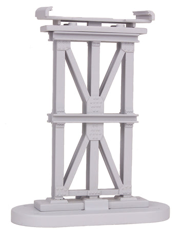 MTH 40-1047 - RealTrax - Elevated Subway Trestle Set (8 Piece) - Silver