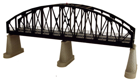 MTH 40-1105 Black O Steel Arch Bridge