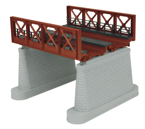 MTH 40-1110 Rust O 2-Track Bridge Girder