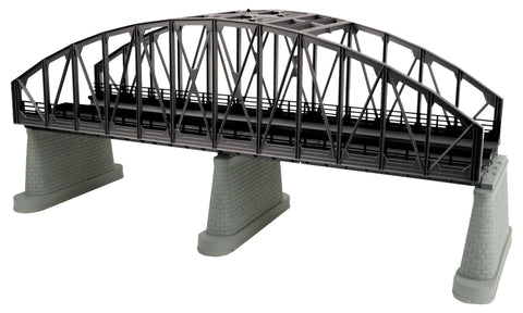 MTH 40-1111 - 2-Track Steel Arch Bridge (Black)