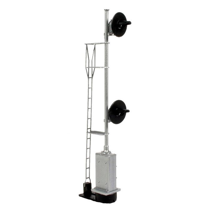 Atlas HO 70 000 089 - Searchlight Signal - Double Head, No Cabinet (SP/SF)