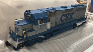 "MTH 20-20828-1 - GP-40 Diesel Engine ""CSX"" w/ PS3 (Hi-Rail Wheels)"