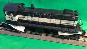 "MTH 20-21181-1 - Alco S-2 Switcher Diesel Engine ""Richmond Fredericksburg & Potomac"" #55 w/ PS3"
