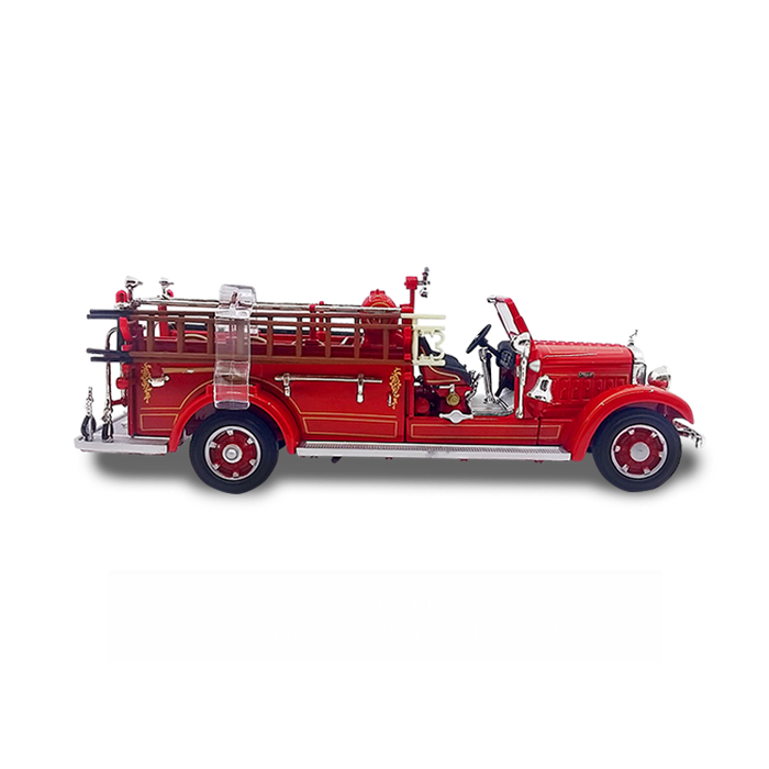 Lucky Die Cast 43001 - 1935 Mack Type 75BX Fire Engine (Red) 1/43 Diecast Car