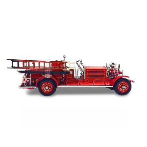 Lucky Die Cast 43004 - 1925 Ahrens-Fox N-S-4 Fire Engine (Red) 1/43 Diecast Car