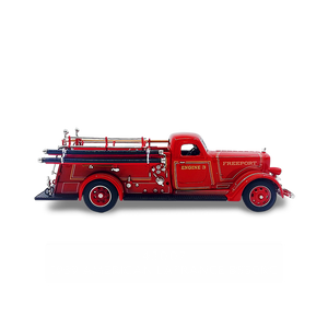 Lucky Die Cast 43007 - 1939 American LaFrance B-550RC Fire Engine (Red) 1/43 Diecast Car
