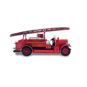 Lucky Die Cast 43009 - 1934 Leyland FK-1 Fire Engine (Red) 1/43 Diecast Car