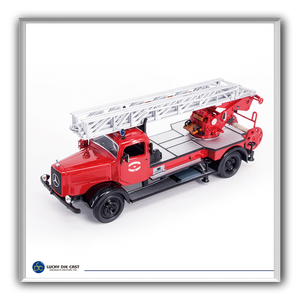 Lucky Die Cast 43012 - 1944 Mercedes Benz L4500F Fire Truck (Red) 1/43 Diecast Car