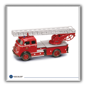 Lucky Die Cast 43016 - 1962 DAF A 1600 Fire Engine (Red) 1/43 Diecast Car