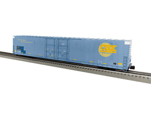 "Lionel 1926014 - 86' 4 Door High Cube Boxcar ""CSX"" #180455 (C&O bleedthrough)"