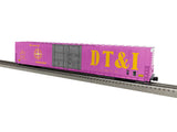 "Lionel 1926022 - 86'  4 Door High Cube Boxcar ""DT&I"" #26888 (purple/pink)"