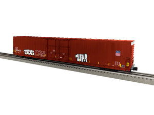 "Lionel 1926053 - 86' 4 Door High Cube Boxcar ""Union Pacific"" w/ graffiti #980455"