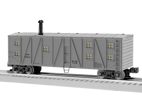 "Lionel 1926181 - Bunk Car ""MOW"" #99832"