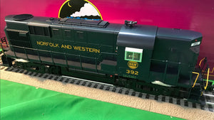 "MTH 20-21074-1 - RS-11 High Hood Diesel Engine ""Norfolk & Western"" #392 w/ PS3"