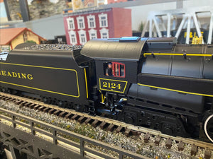 "Lionel 2001430 - Legacy T1 Steam Locomotive ""Reading"" #2124 (Rambles) - Custom Run for MrMuffin'sTrains"