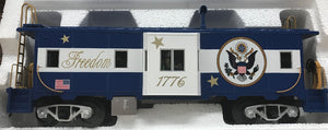 "MTH 30-20433-1 - ES44AC Imperial Diesel & Caboose Set ""Freedom"" w/ PS3"