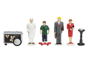 Lionel 6-14218 - Downtown People Pack (6-Pack)