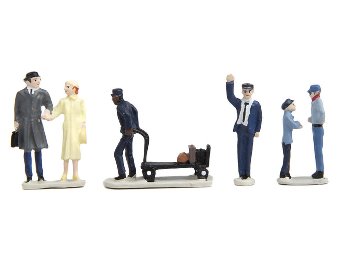 Lionel 6-24123 - Passenger Station People Pack (6-Pack)