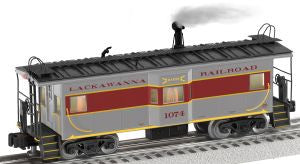 "Lionel 6-27695 - NS Heritage Bay Window Caboose ""Lackawanna"""