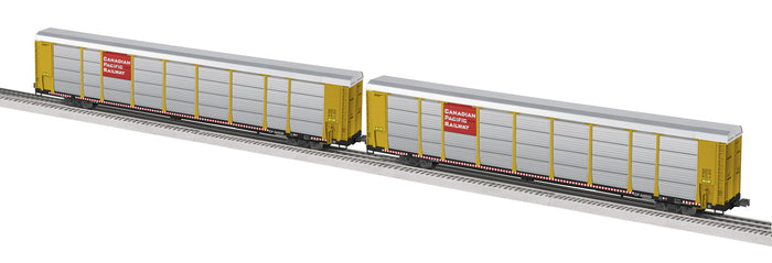 "Lionel 6-29377 - 89' Auto Carrier ""Canadian Pacific"" (2-Car)"