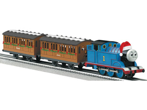 "Lionel 6-30162 - LionChief - Christmas Set ""Thomas & Friends"" w/ Remote and RailSounds RC"