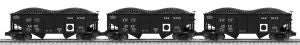 "Lionel 6-81793 - GLA 50-Ton Twin Hopper ""Berwind White Coal"" (3-Car)"