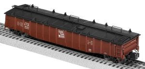 "Lionel 6-81893 - 52'-6"" Gondola ""Grand Trunk Western"" w/ Covers #145390"