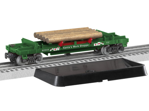 Lionel 6 82049 Log Dump Car Quot Santa S Work Shoppe