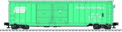 Lionel  6-82260 50' Double Door Boxcars - Penn Central