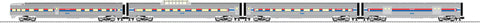 "Lionel  6-82590 Amtrak® 21"" Passenger Car 4-Pack"