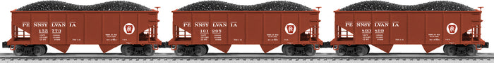 "Lionel 6-82611 - GLA 50-Ton Twin Hoppers ""Pennsylvania"" (3-Car)"