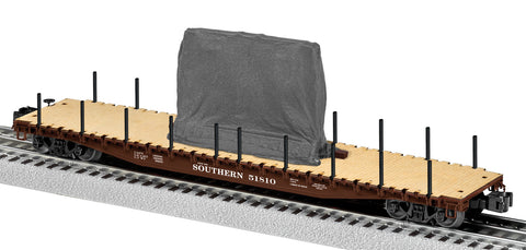 Lionel 6-82706 PS-4 Flatcar with load - Southern Railway