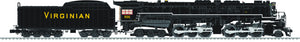 "Lionel 6-82770 - 2-6-6-6 Allegheny Steam Locomotive ""Virginian"" #906"