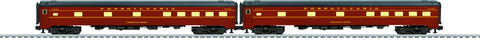 "Lionel  6-83007 Pennsylvania Broadway Limited 21"" Passenger 2-Pack"