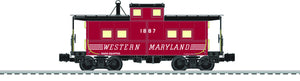 "Lionel 6-83362 - Northeast Style Caboose ""Western Maryland"""