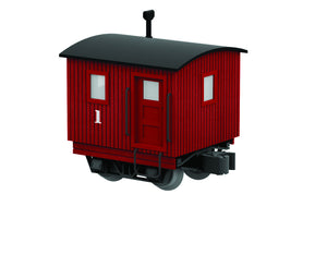 Lionel 6-83555 - Disconnect Logging Caboose (Red) #1