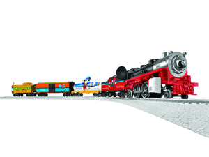 "Lionel 6-83979 - LionChief Disney Diesel ""Mickey & Friends"" Express Freight Set w/ Bluetooth"