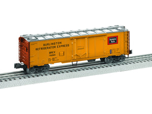 "Lionel 6-84117 - 40' Steel Reefer ""Burlington"""