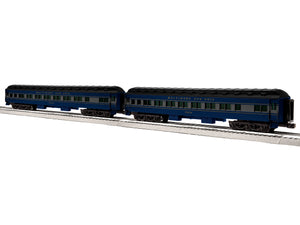 "Lionel 6-84187 - 18"" Heavyweight Passenger Coach Car ""Baltimore & Ohio"" (2-Car) Set #1"