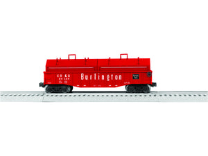 "Lionel 6-84304 - Gondola ""Chicago, Burlington & Quincy"" w/ Covers"