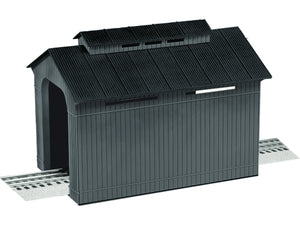 Lionel 6-84308 - Non-illuminated Half Covered Bridge (Grey)