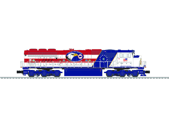 "Lionel 6-84400 - SD60M Diesel Locomotive ""Burlington Northern"" #1991"