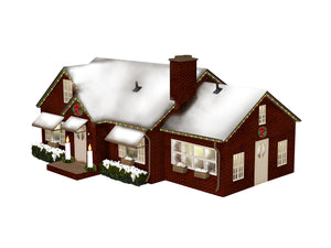 Lionel 6-84795 - Deluxe Christmas House
