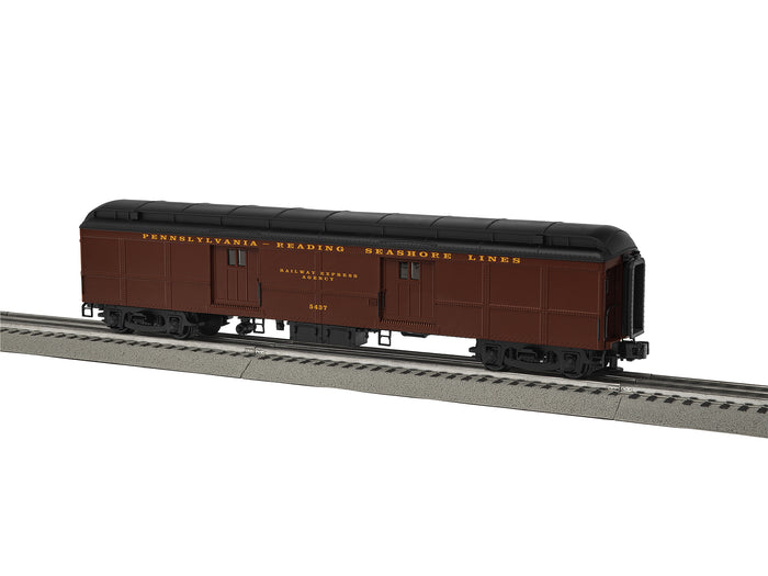 "Lionel 6-84995 - B60 Baggage Car ""Pennsylvania-Reading Seashore Lines"" #5437 (Clerestory)"