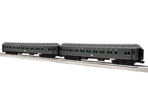 "Lionel 6-85000 - 18"" Heavyweight Passenger Coach Car ""Long Island"" (2-Car) Set #2"