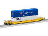 Lionel 6-85066 - Husky Stack w/ EOT - TTX w/ End of Train #56210